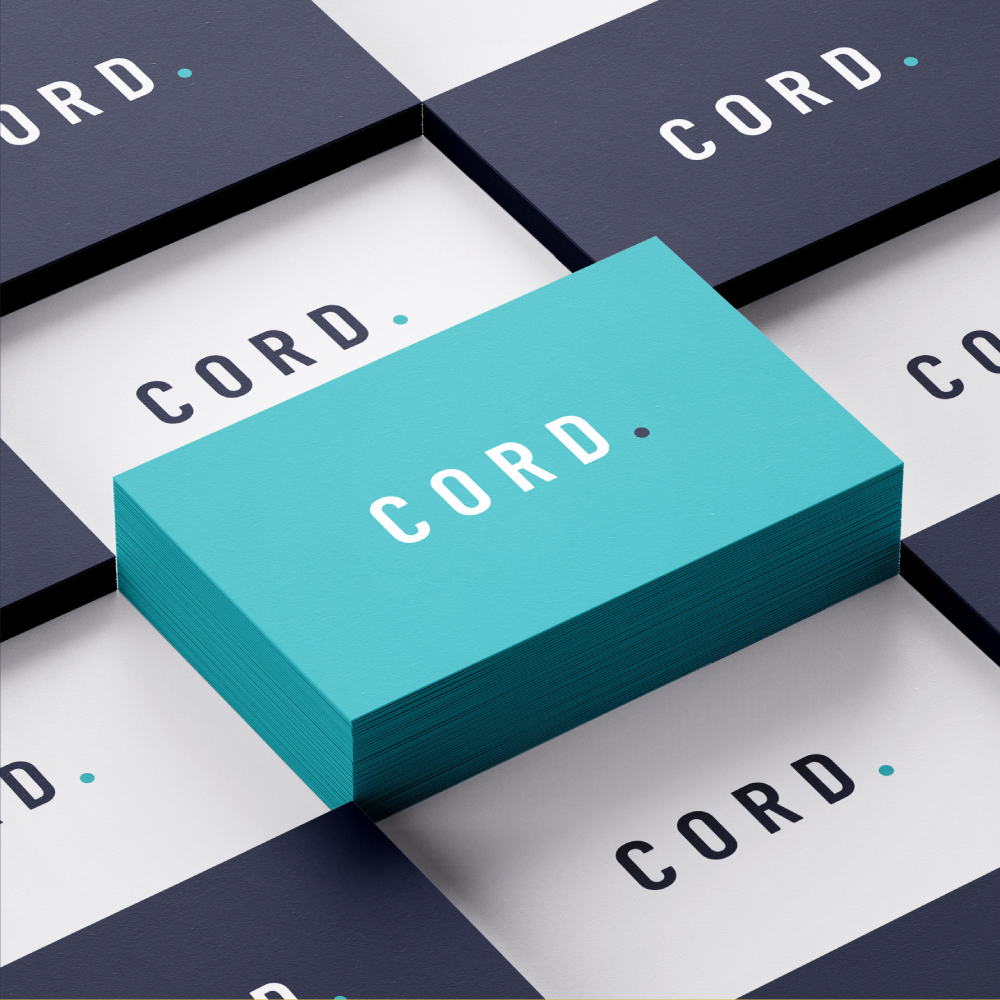 Cord Consulting Business Card Design